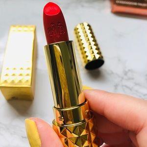 Kat Von D Studded Kiss creme lipstick Santa Sangre